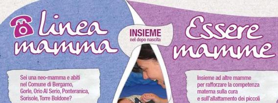 Essere Mamme e Linea Mamma dell'Ambito 1 di Bergamo