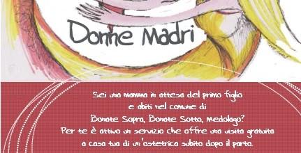 Progetto Donne Madri per i Comuni di Bonate Sopra, Bonate Sotto e Medolago