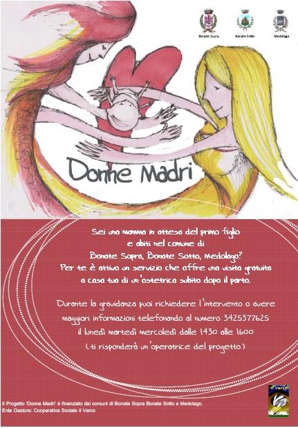 progetto donne madri 2012