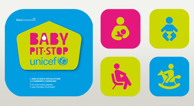 baby pit stop logo unicef