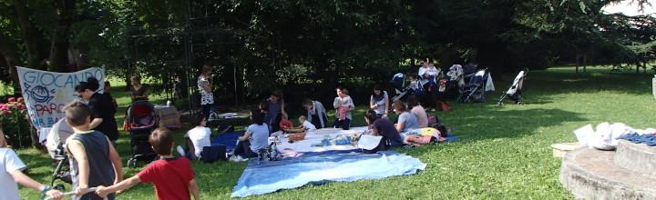 Luglio 2015: nuovo Spazio Neomamma nel Parco a Villa di Serio