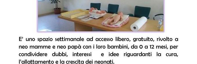 Settembre 2016: novità per lo Spazio Allattamento Consultorio Scarpellini Bergamo