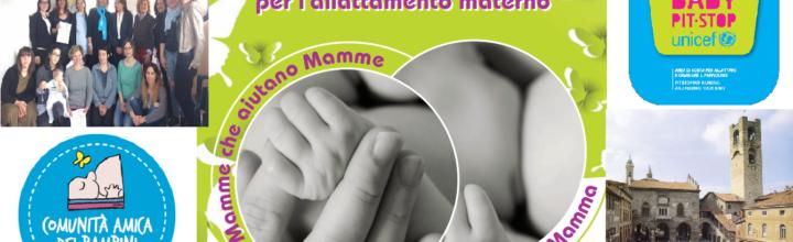 Manifesto delle prime Mamme Peer Counselor Unicef di Bergamo