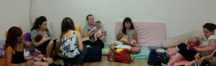 Agosto 2017: incontri del gruppo promozione allattamento a Valbrembo