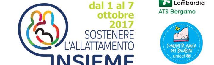 Ottobre 2017: ATS BERGAMO con le madri per la SAM 2017 nei BPS Unicef