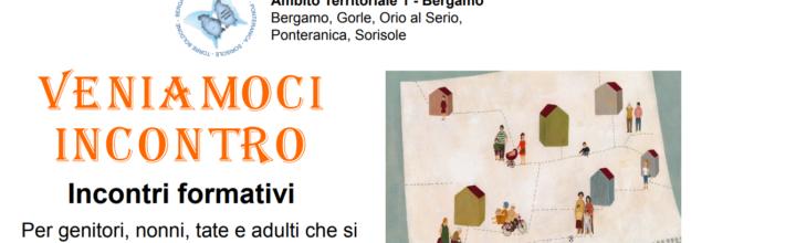Dalla gravidanza ai 3 anni, incontri a Bergamo, Ponteranica e Torre Boldone