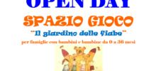 Settembre 2018: Open day Spazio Gioco a Scanzorosciate