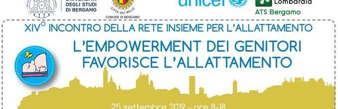 Convegno a Bergamo Insieme per l'allattamento